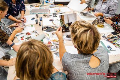 Kleurworkshop bij Bauhaus