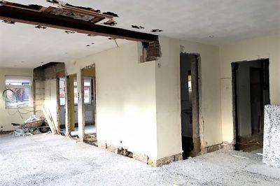 Keuken annex woonkamer