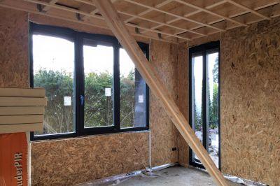Slaapkamer 1 in de aanbouw