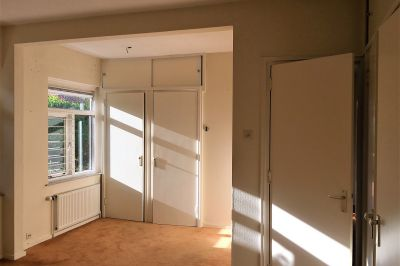 Master bedroom bij aankoop