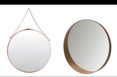 Trend: ronde spiegels